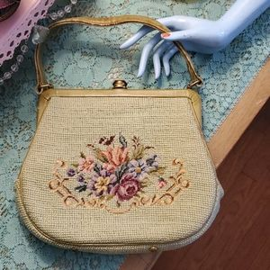Vintage embroidered bag